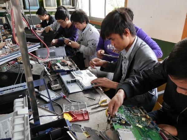 肇东家电维修培训学校电器维修培训招生-笔记本电脑的故障终于找到了!
